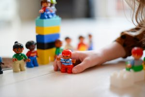 background lego people playing by a kid 300x200 - background - lego people playing by a kid
